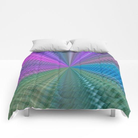 Psychedelic Twist Comforters