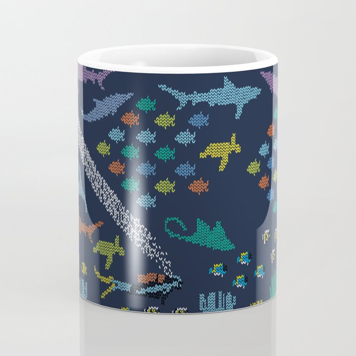 Scuba diving – Knitted ecosystem Coffee Mug