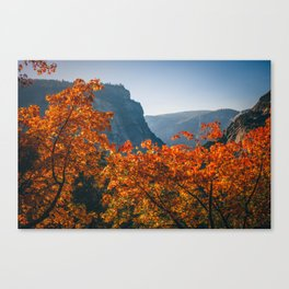 Autumn in Yosemite Valley Canvas Print