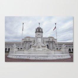 Amtrak terminal (train station) - Washington D.C Canvas Print