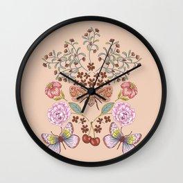 Nature's Poem  Wall Clock