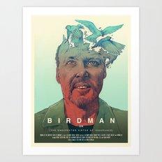 Birdman - Alternative Poster Art Print