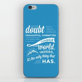 Inspirational Quote iPhone Skin