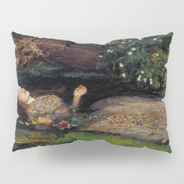 John Everett Millais Ophelia Painting Pillow Sham