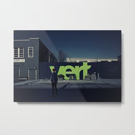 Vert Metal Print