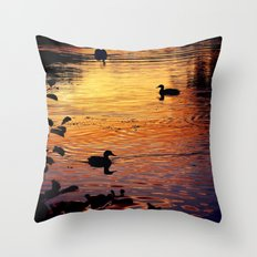 Duck Dawn =) Throw Pillow