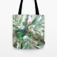 snowflake Tote Bags featuring snowflake by Lalina ChristmasShop