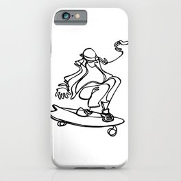 Skate :: Toes to the Nose iPhone Case