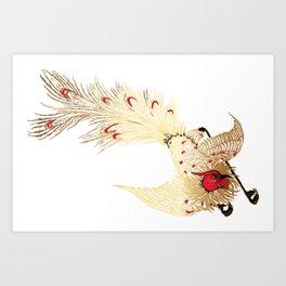 Art bird Art Print