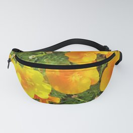 Poppies Watercolor Fanny Pack