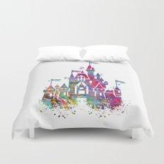 Princess Castle Duvet Cover