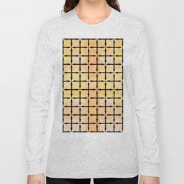 Black Arrows/Peach - Direction Long Sleeve T-shirt