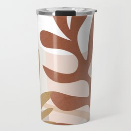 Abstract Plant Life II Travel Mug