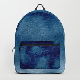 Blue Watercolor Wash Backpack