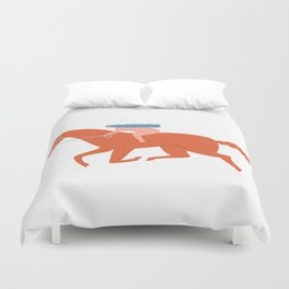 Naked derby Duvet Cover