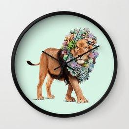 SUCCULENT LION Wall Clock