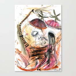TWEEDLE TWINS Canvas Print