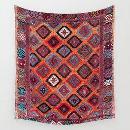 Sarkisla Sivas Kurdish Anatolian Rug Wall Tapestry