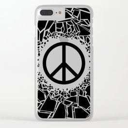 Peacebreaker Clear iPhone Case
