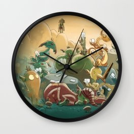 Goblins Drool, Fairies Rule! - Team Goblin Wall Clock