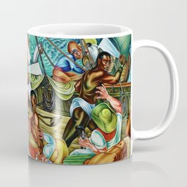 """African American Classical Masterpiece """"The Mutiny on the Amistad"""" by Hale Woodruff Coffee Mug"""