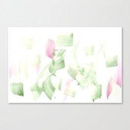 180515 Abstract WP 2 | Watercolor Brush Strokes Canvas Print