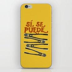 Sí se puede iPhone & iPod Skin