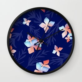 Flowers of the Night Wall Clock