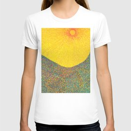 Here Comes the Sun - Van Gogh impressionist abstract T-shirt