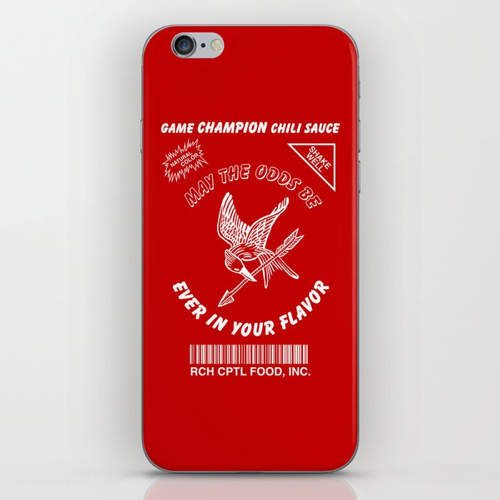 May The Odds Be Ever In Your Flavor iPhone Skin