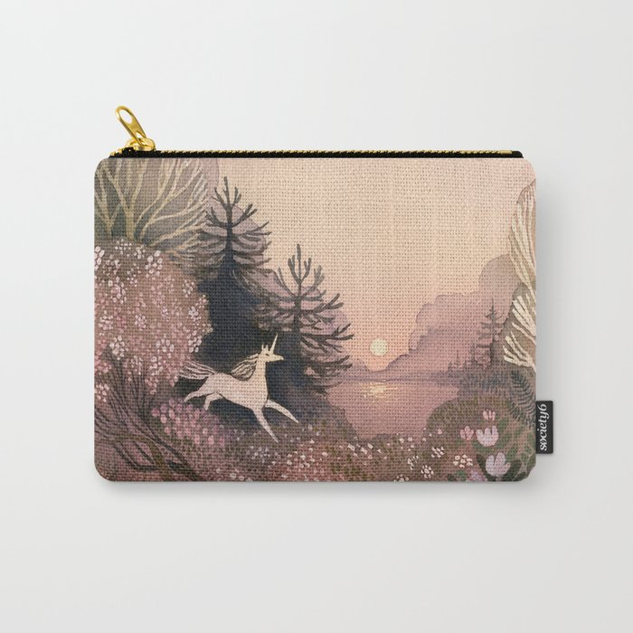 Blooming Forest Carry-All Pouch