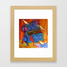 Karnival 1 Framed Art Print