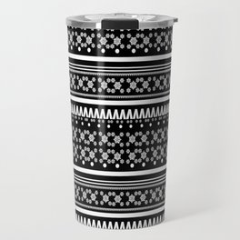 Christmas Jumper Black Travel Mug