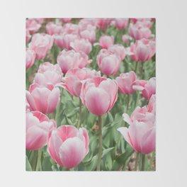Arlington Tulips Throw Blanket