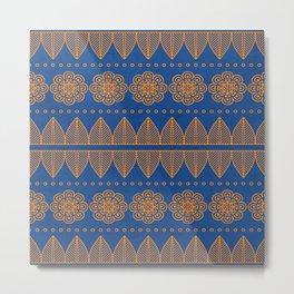 Indian Designs 206 Metal Print