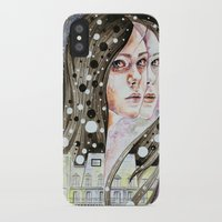 nightmare iPhone & iPod Cases featuring Nightmare by Veronika Weroni Vajdová