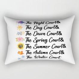 ACOTAR Courts Rectangular Pillow