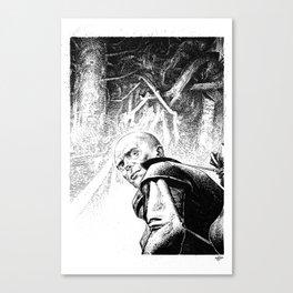 Stalker by Anna Helena Szymborska Canvas Print