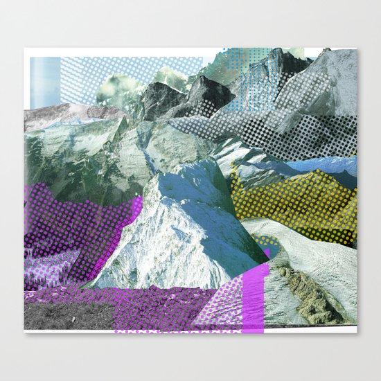 Experiment am Berg 17 Canvas Print