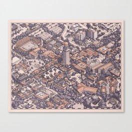 Cardinal City Canvas Print