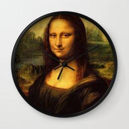 Monalisa, Leonardo Da Vinci, Mona Lisa, original Wall Clock