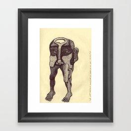 """2004-10-03, """"de puro adorno"""" Framed Art Print"""