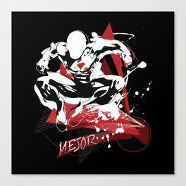 Mejor Fitness Man Canvas Print