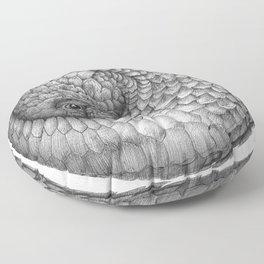 The Infinite Pangolin Floor Pillow