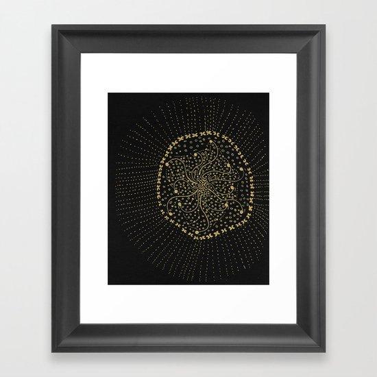 GOLD NO.3 Framed Art Print