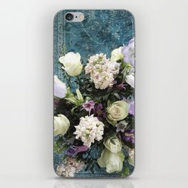 Pretty Flowers on Persian Carpet iPhone Skin