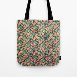 Escape Pattern Tote Bag
