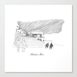Richard Meier Canvas Print