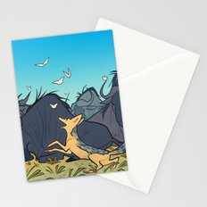 Black-Backed Jackal Stationery Cards