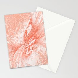 Splatter in Guava Stationery Cards